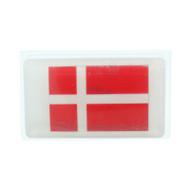 Denmark Flag Scandinavian Soap - 5 oz. Bar - Oatmeal Milk & Honey (SS1D)