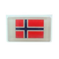 Norway Flag Scandinavian Soap - 5 oz. Bar - Oatmeal Milk & Honey (SS1N)
