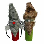 Bottle Bag - Santa Fur - Red (BB017-3)