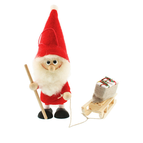 Tomte Santa with Sled (26103)