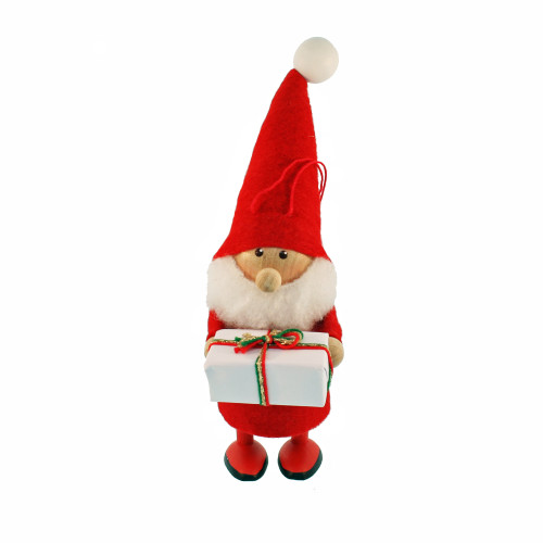 """Tomte-Santa with Present - 6"""" (26104)"""