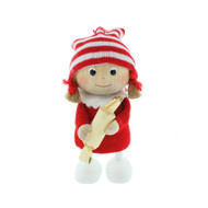 Tomte-Santa Girl with Candy (26114)