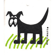 Swedish Dishcloth - Dog in the Grass (56102)