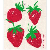 Swedish Dishcloth - Strawberries (56196)