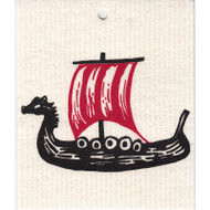 Swedish Dishcloth - Viking Ship (56914)