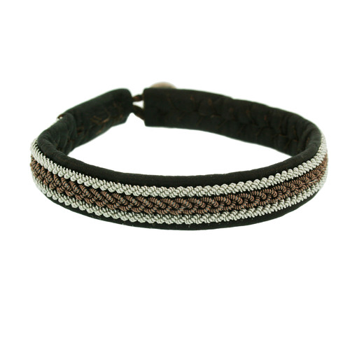 Lapland Nordic Leather Bracelet - Emma Brown (1613BR)