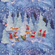 "Wrapping Paper - Julkalender 23"" x 72"" (3411)"