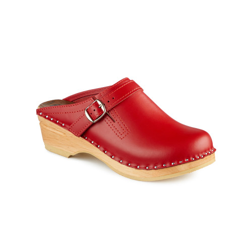 Raphael Clogs in Red - Original Sole Collection (062-036)
