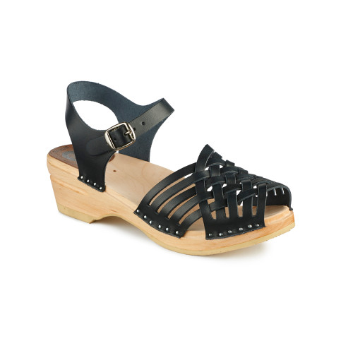 Anna Clog-Sandals in Black - Women's - Original Sole Collection (066-011)