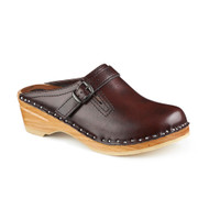 Raphael Clogs in Black Cherry - Original Sole Collection (6062-016)