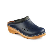O'Keefe Clogs in Dark Blue (6087-043)