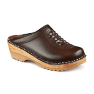 Wright Clogs in Cola Brown (6166-017)