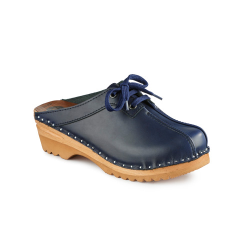 Audubon Clogs in Dark Blue (6867-043)