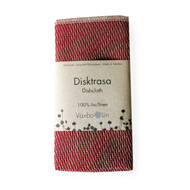 Linen Disktrasa Dishcloth - Red (91-12)