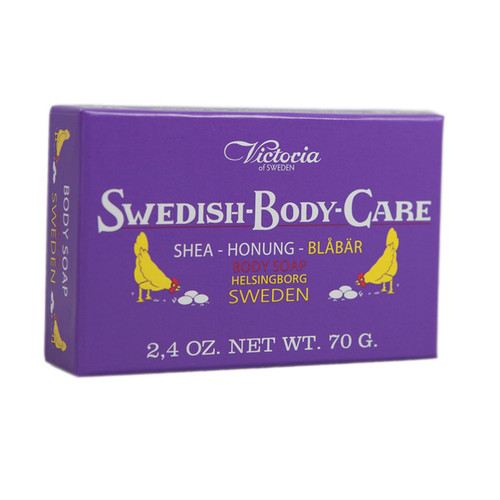 Victoria of Sweden Blueberry Soap (504006)