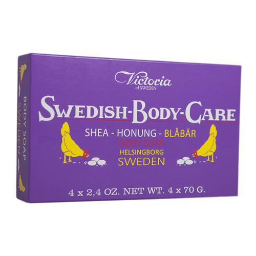 Victoria of Sweden Blueberry Soap Gift Set (504007)