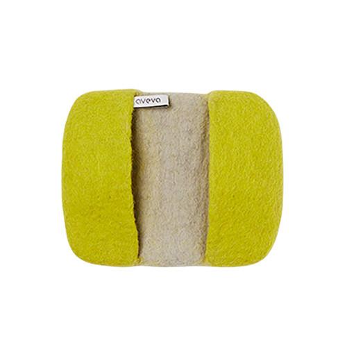 Wool Potholder - Lime (1202)