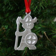 Viking Ornament - Pewter (PO-17)