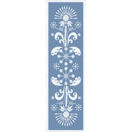 Ekelund Table Runner - Tinas Kurbits - Blue (Tinas Kurbits-21R)