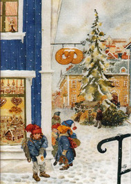 Children at Bakery Christmas Card (63)