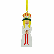 Lucia Ornament - Wooden - (3301)