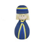 Swedish Boy Figure - Wooden - (45334)