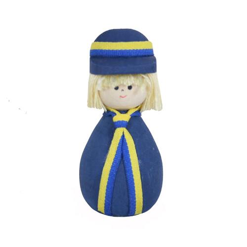 Swedish Boy Figure - Wooden - (45334)