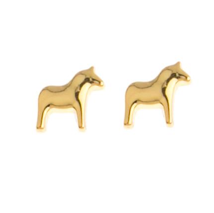 Dala Horse Earrings (Posts/Stick) - (62914)