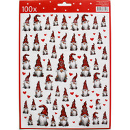 Christmas Stickers - 100 Stickers Per Pk. (13767501B)