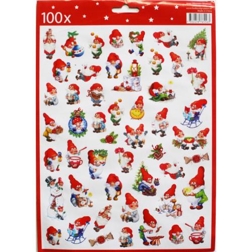Christmas Stickers - 100 per Pk. (13767501C)