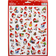 Christmas Stickers - 100 per Pk. (13767501C)