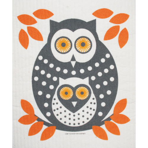 Swedish Dishcloth - Owl - 218.35O (218.35O)