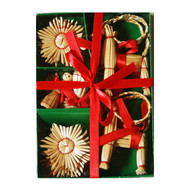 Straw Ornament Set - (H1-564)