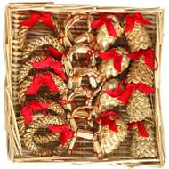Straw Ornament Assortment - (H1-586)