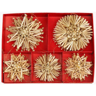 Straw Ornament Assortment - (H1-76)