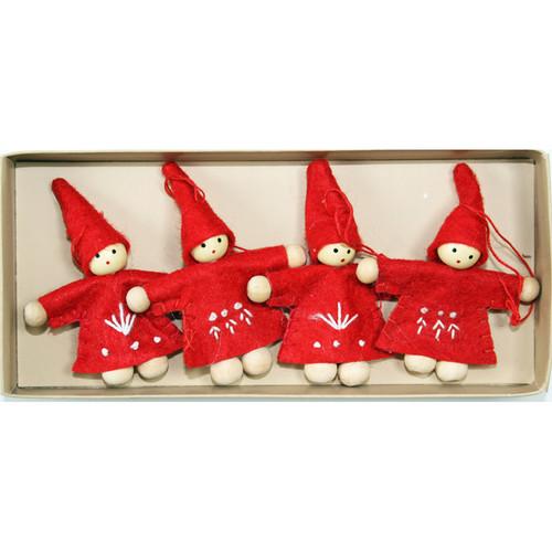Tomte-Santa Ornaments - (H1-904)