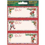 God Jul Gift labels - 6-pack (14045)