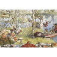 Carl Larsson Blank Card - (NC30027)
