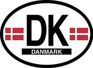 Denmark Car Decal - (OD-D)