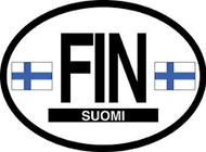Finland Car Decal - (OD-F)