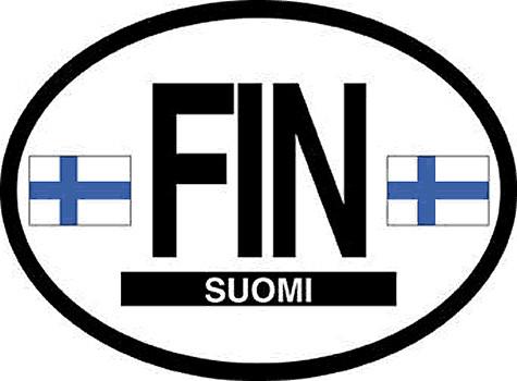 Finland Car Decal - (OD-F)