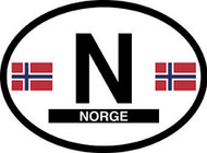 Norway Car Decal - (OD-N)