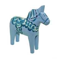 "Swedish Wooden Dala Horse - 5"" - (SDH5LB)"