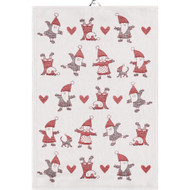 Ekelund Tea/Kitchen Towel - Tomtedans (Tomtedans)