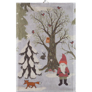 Ekelund Tea/Kitchen Towel - Julpromenad (Julpromenad)