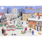 "Advent Calendar - Christmas in the Village - 16.5"" x 11.75"" (AC1)"