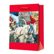 Christmas Gift Bag - Delivery Tomte Nisse (13768901)