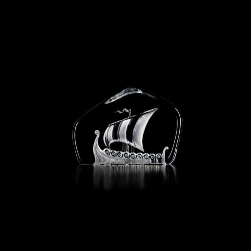 Viking Ship - Clear - by Mats Jonasson (28140)