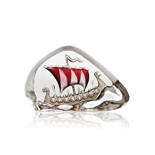 Nordic Icons Viking Ship (Large) Red - by Mats Jonasson (33911)