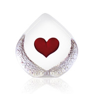 "Global Icon Heart (Large) - by Mats Jonasson - 3"" (33773)"